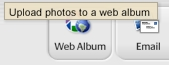 Web Albums Button