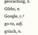 Google as verb