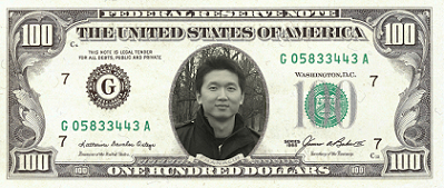 Eng Lee on USD 100