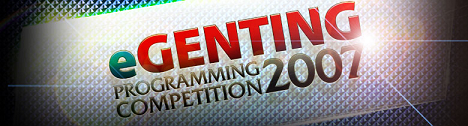 eGenting Programming Competition 2007